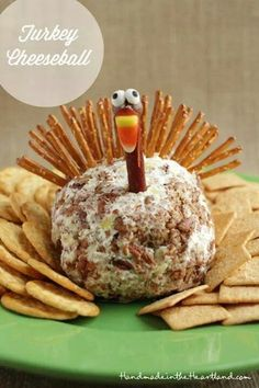 Turkey cheeseball!