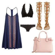 """""""Untitled #33"""" by emshort on Polyvore featuring Burberry, Charlotte Russe and Accessorize"""