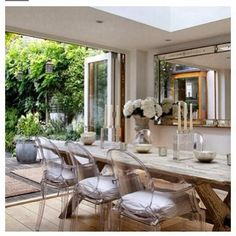 simply vintageous...by Suzan: Week of White - Dining Rooms