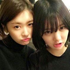 Jung So Min and Lee Yoo Bi! ^^