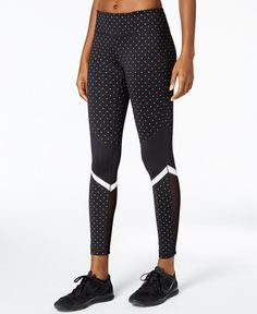 c9faf8cca1aa99 Ideology Reflective Leggings, Created for Macy's & Reviews - Pants & Capris  - Women - Macy's