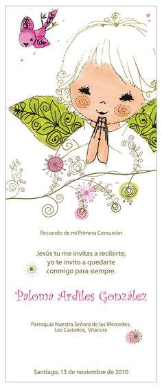 Santitos de Bautizo y Comunión | twosisterscl Envelopes, Holy Communion Invitations, Face Images, Ideas Para Fiestas, First Holy Communion, Scrapbooking, Art Projects, Prayers, Paper Crafts
