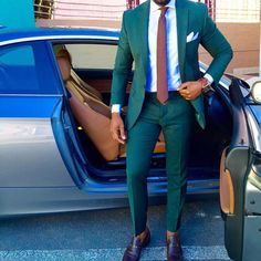 Bilderesultat for green ankle suit pants men