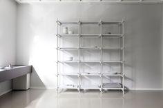 Stick System 3x6, White Design by Jan Plecháč & Henry Wielgus