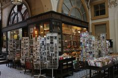 Bookshop in Galerie Vivienne