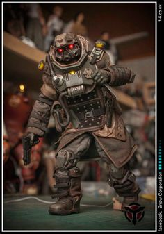 Artist Makes Badass Battlefront, Killzone & Resident Evil Figures http://templates.jrstudioweb.com/