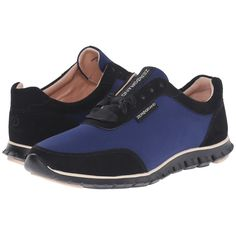 Cole Haan Zerogrand Stadgedoor Sneaker (Midnight Blue/Ballet... (2,895 MXN) ❤ liked on Polyvore featuring shoes, sneakers, pink sneakers, ballerina shoes, leather shoes, leather sneakers and cole haan shoes