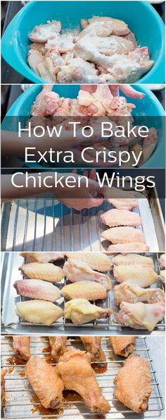 Crispy Oven-Baked Chicken Wings