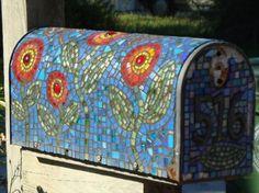 Mosaic Tile Mailbox - Jacksonville Beach, FL