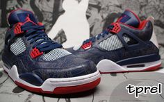 Air Jordan IV 4 Olympic Laser Sample (2008) Michael Jordan Sneakers 89d2a5e70c