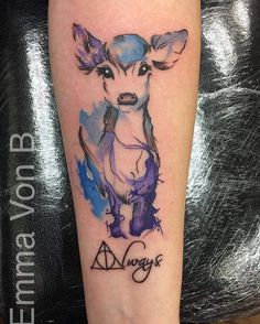 """Always"" tattoo Harry Potter"