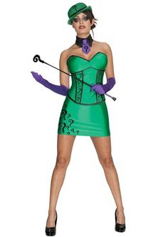 Another gender bend. The female version of The Riddler.