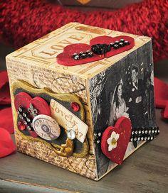 Romantic Collage Photo Block