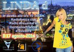 Comunicato Stampa: Linda d International On Air