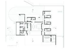 Migliari Guimarães House,Ground Floor Plan