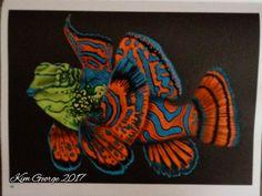 Mandarin Fish By Kim Lynch George