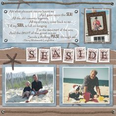 Premade Scrapbook Pages by MyLittleCornerOfTheWorld