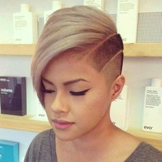Undercut with lines