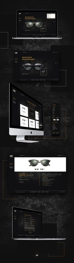 Web site for online store that sells expensive branded sunglasses