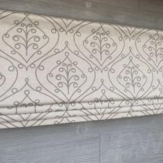Lined Faux Fake Flat Roman Shade Valance Ivory Gray Light   Etsy Valance Patterns, Fabric Patterns, Candle Wall Decor, Faux Roman Shades, Curtain Shop, Window Casing, Premier Prints, Moroccan Design, Custom Curtains