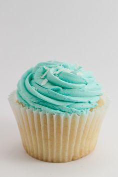 Blue Cup cake