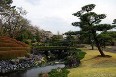 Momijiyama Garden in Shizuoka's Sunpu Park