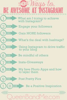 how to grow an instagram following » Lolly Jane