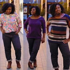 My #Morganjeans paired with A floral #lindensweatshirt or #hemlocktee with or without sleeves in Jersey knit fabrics #grainlinestudio #closetcasepatternhemlocktee,morganjeans,closetcasepattern,grainlinestudio,lindensweatshirtlesmafamafa