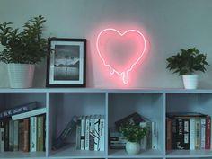 Make My Heart Melt Neon Sign Handmade Visual Artwork Wall Home Decor Light