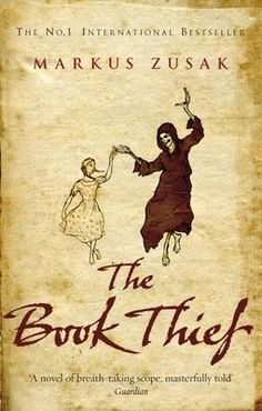 The Book Thief. My favourite book. Needs to be read by everyone ever.