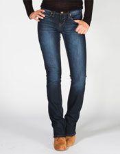 YMI Wanna Betta Butt Womens Bootcut Jeans