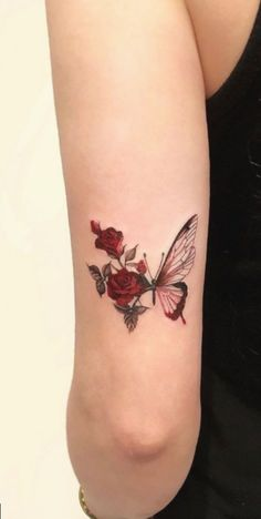 Feed your ink addiction with 50 of the most beautiful rose tattoo designs for men . - Feed your ink addiction with 50 of the most beautiful rose tattoo designs for men and women – fan - 13 Tattoos, Rosen Tattoos, Mini Tattoos, Body Art Tattoos, Sleeve Tattoos, Cool Tattoos, Tatoos, Tattoos On Hand, Tattoo Drawings