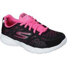 Women's Skechers GOfit 3 Presto Black/Hot Pink