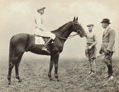 MARCH 25, 1938: Bruce Hobbs, seventeen, wins England's Grand National steeplechase aboard a horse named Battleship. He is the youngest and, at 6-foot-3, the tallest rider of a Grand National winner.