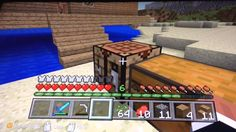 Minecraft xbox tutorial world,series, (6) finally torches!!!
