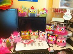 Handmade these for owl adoption at night owl slumber party