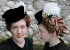 elizabethan hat. This style suits her very well                                                                                                                                                      More
