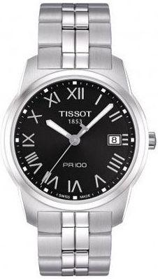 T049.410.11.053.01, T0494101105301, Tissot pr 100 watch, mens