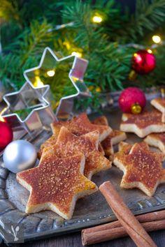 Zimtstern-Plätzchen I Cinnamon star cookies I Sia´s Soulfood
