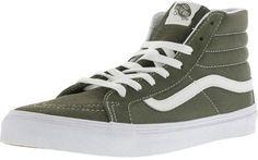 4387f1c8d5fc45 Vans Sk8-Hi Slim Suede And Canvas Grape Leaf   True White Ankle-High  Skateboarding Shoe - 10M 8.5M