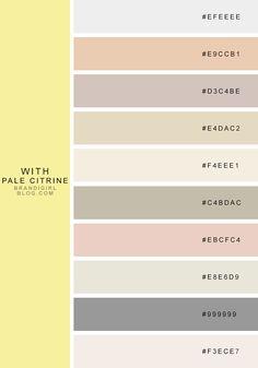 favorite quasi-neutrals - 4 pale citrine