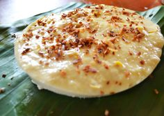 Maja Blanca   Filipino Food