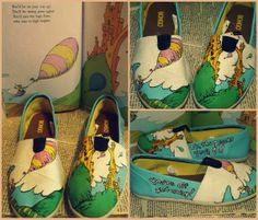 Fun, Funky, Cool Hand Painted Shoes - Snappy Pixels
