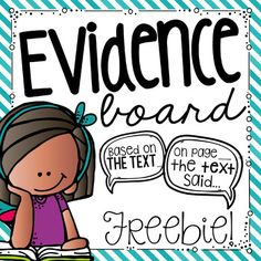 I absolutely love this new addition to my classroom this year. I was looking to create a bulletin board that would be used regularly in my classroom. I love these sentence stems for helping students accurately cite evidence from the text. Third Grade Writing, 6th Grade Ela, Second Grade, Student Teaching, Teaching Reading, Citing Text Evidence, Sentence Stems, Reading Bulletin Boards, Common Core Reading
