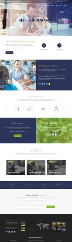 Selfie is a Multi/One Page WordPress Theme that is considered as a perfect solution for all kinds of businesses from corporations Demo Wordpress Demo, Business Website Templates, Web Design, Finance Business, Sites, Website Designs, Website Layout, Purpose, Selfie
