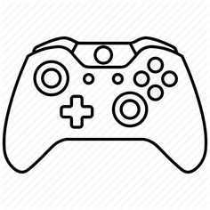 Xbox One Controller Template by TheWolfBunny | Xbox one ...Xbox Controller Silhouette Image Cricut