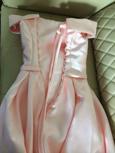 f8811b55 Walk Naast jou Bruidsmeisjekleding Lang Roze Satijn Uit de Schouder vestido  madrinha casamento longo robe demoiselle d'honneur