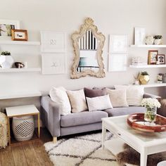 Living Room Side Tables – ohmydearblog