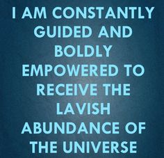 I am constantly guided Wealth Affirmations, Morning Affirmations, Positive Affirmations, Positive Life, Positive Thoughts, Positive Quotes, Speak It Into Existence, Spiritual Enlightenment, Good Thoughts