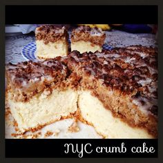 NYC crumb cake